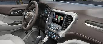 2018 gmc acadia. interesting acadia view of the technologies available in 2018 gmc acadia midsize suv on gmc acadia