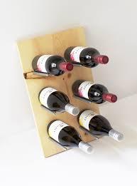 Wine Bottle Storage Angle Diy Modern Wine Rack