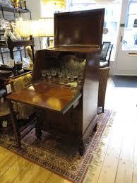 deco oak l cabinet carved g
