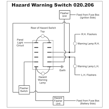 wiring diagrams for classic car parts from holden vintage hazard flasher rocker switch off on
