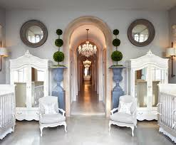 high end nursery furniture. Jaw Dropping Twin Nursery -- I Just Need Half! Love The Chairs, Topiaries High End Furniture