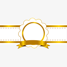 gold ribbon border shiny gold ribbon border tag shiny label border gold ribbons
