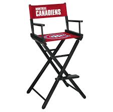 browning furniture. Excellent Black Aluminum Tall Directors Chair With Montreal Canadiens Cover Along Browning Furniture