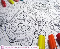 abstract coloring pages detailed printable coloring book for s and s