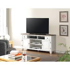 68 Inch White TV Stand  Camden