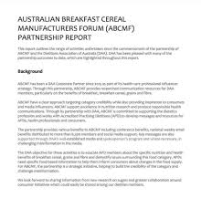 abcmf partnership report