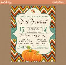 fall festival harvest invitation poster pumpkin patch farm 128270zoom