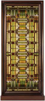 Amazon.com: Frank Lloyd Wright Oak Park Skylight Stained Glass