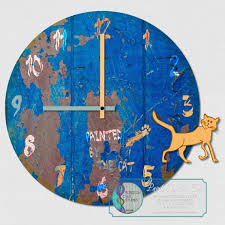 Screechowlstudio Printable Clock Face Painted By The Cat