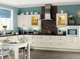 Blue Paint For Kitchen Kitchen 5 Cool White Paint Colors For Kitchen Cabinets And Blue