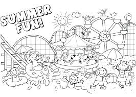 free printable summer coloring pages summer coloring