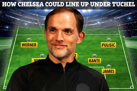 Chelsea face city again in the premier league on saturday and tuchel won't look further ahead than that. How Chelsea Could Line Up Under Thomas Tuchel With Haaland And Upamecano As Ex Psg Boss Is Lined Up To Replace Lampard