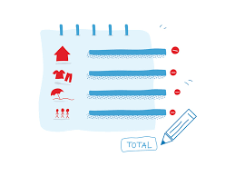 5 Calculate Your Monthly Expenses By Andreea Mica On Dribbble