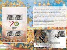 Indonesia Releases Ramayana Stamp For 1st Time Celebrating