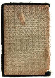 old book inside cover
