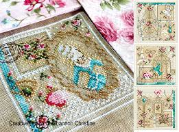 French Cross Stitch Charts French Boudoir Spirit Cross Stitch Patterns