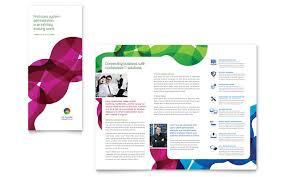 Microsoft Office Tri Fold Brochure Template Microsoft Office Trifold Template Brochures Office Templates