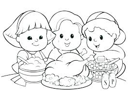 Coloring Pages Free Printable Thanksgiving Coloring Pages Free