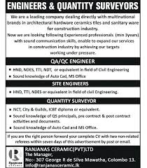 Ceramic Engineer Jobs Best Job Site In Ceramic Engineer Jobs Salary