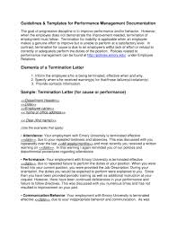 Sample Of A Termination Letter To An Employee 9 Examples Of Employee Termination Letter Template Pdf Word