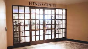 gym fitness center at the new las vegas park mgm hotel