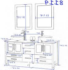 picture 4 of 50 standard bathroom vanity height best of standard pertaining to standard height of