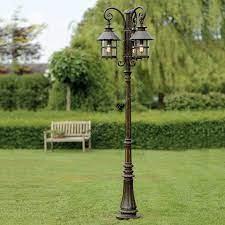 robers outdoor post lamp al 6802