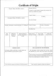Certificate Of Origin Template Nafta Certificate Of Origin Inspirational Certificate Of Origin 17