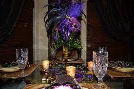 southern charm mardi gras tablescape