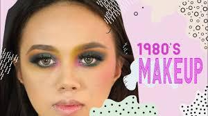 1980s makeup colorful retro look tutorial jenny banh
