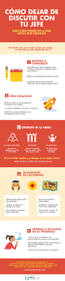 best images about managemployee productivity coacutemo dejar de discutir con tu jefe infografia