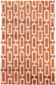 best value modern rugs gallery modern geometric pattern rug hand knotted in india