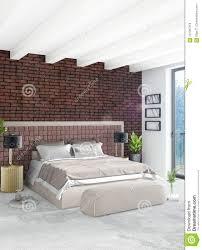Zolderslaapkamer In Modern Stijl Binnenlands Ontwerp Met Eclectische