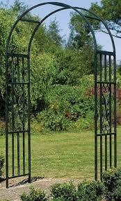 garden arch arbor steel pergola metal