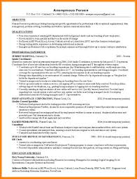 9 Human Resources Resumes Samples Offecial Letter