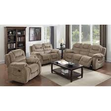 Sunset Trading Madison Piece Reclining Living Room Set