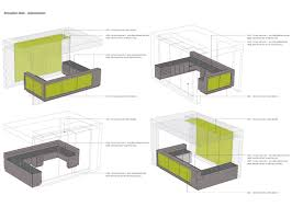 Modern Reception desk plan with large furniture and mainboard - Your Home  Design (shared via