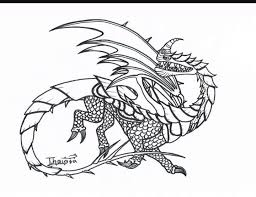 Razorwhip Coloring Dragons In 2019 Trees To Plant Httyd How To
