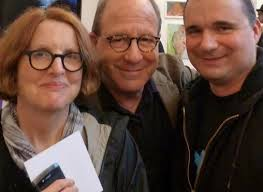File:Wiki roberta smith left jerry saltz center terry ward right nyc  chelsea 2012.jpg - Wikimedia Commons