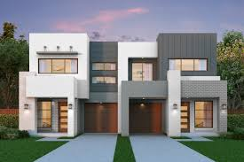 Frontage House Designs Rutherford 41 15m Frontage Duplex Home Design Meridian Homes