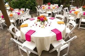 wedding round table centerpieces tables