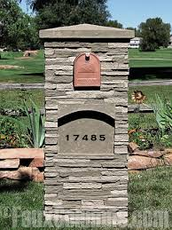 stone mailbox designs. RC24. Stone Mailbox Designs L