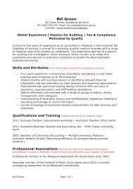 Sample Resume For Australian Jobs Free Resume Example And