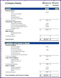 Excel Example Download Free Balance Sheet Template Excel Example Format Download