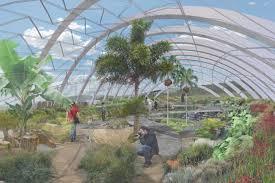 botanic gardens greenhouse image
