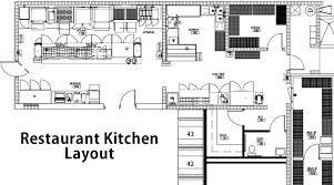 Restaurants Kitchen Layout The Restaurant Design Floor Plan Cad