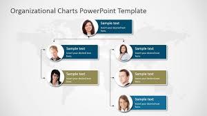 002 Multi Level Org Chart Organization Template Powerpoint