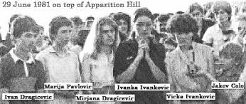 Image result for medjugorje seers apparition hill early days