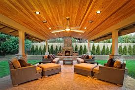 patio cover lighting ideas. Stylish Covered Patio Ceiling Ideas Outdoor Patios Porch With Heaters Cover Lighting G