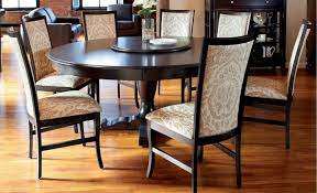 round dining table 8 chairs within and for people room turkurolap com ideas 14